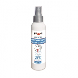 Spray do dezynfekcji rąk z gliceryną i panthenolem 140ml